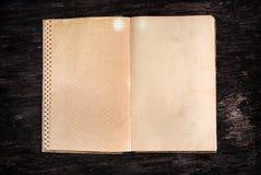 Vieux livre vide image libre de droits