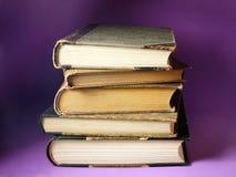 Vieux livres Photo stock