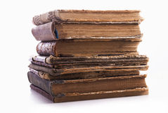 Vieux livres. Photo stock