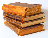 Vieux livres. Photos stock