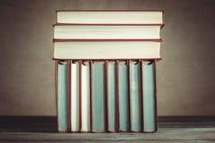 Vieux livres de cru Photographie stock libre de droits