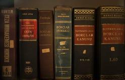 Vieux livres de loi Photos libres de droits