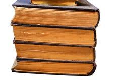 Vieux livres des archives image stock