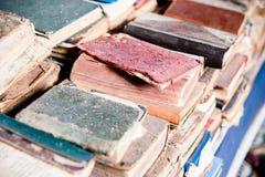 Vieux livres, Maroc Images stock