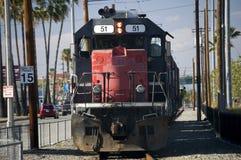 Vieux locomotive et train Photographie stock libre de droits