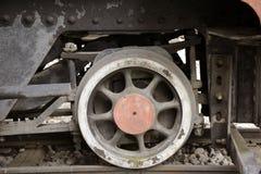 Vieux locomotives et chariots Photographie stock libre de droits