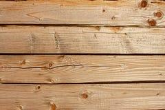 Vieux logarithmes naturels en bois Photos stock