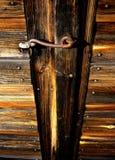 Vieux loquet Images stock