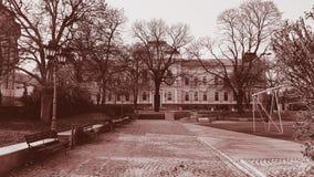 Vieux lycée Image stock