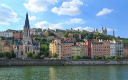 Vieux Lyon stock foto's