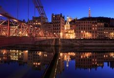 Vieux Lyon Stockfotografie