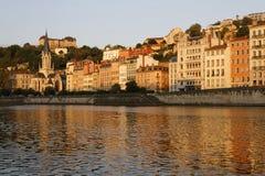 The Vieux-Lyon at dawn Stock Images
