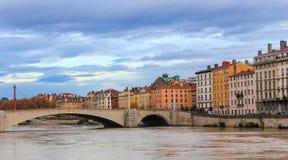 Vieux Lyon, França Fotografia de Stock