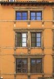 Vieux-Lyon windows Stock Photo