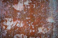 Vieux métal rouillé de fond horizontal photo libre de droits