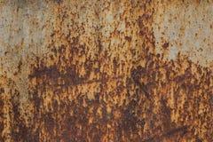 Vieux métal rouillé Texture de métal Vieux fond de fer Image stock