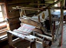 Vieux métier à tisser en bois Carélie images libres de droits