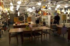 Vieux magasin de meubles Photos libres de droits