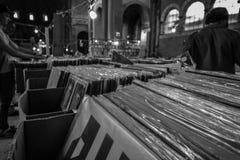 Vieux magasin record 2 Photos libres de droits