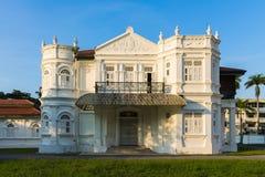 Vieux manoir colonial de fantaisie Photographie stock libre de droits
