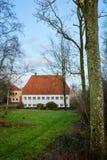 Vieux manoir danois Image libre de droits
