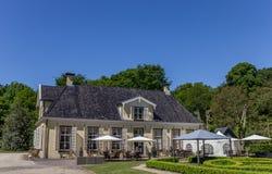 Vieux manoir néerlandais Lemferdinge Photo libre de droits
