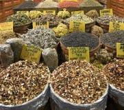 Vieux marché égyptien dans Instanbul, Turquie. Images libres de droits