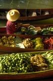 Vieux marché de flottement. Image stock