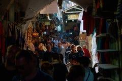 Vieux marché de ville Photos libres de droits