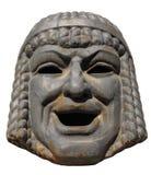 Vieux masque d'une comédie Photos libres de droits