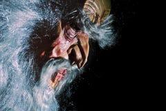 Vieux masque effrayant Image stock