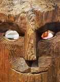 Vieux masque indien Photo libre de droits