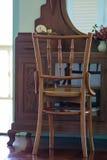 Vieux meubles en bois de teck Photographie stock
