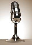 Vieux microphone illustration libre de droits