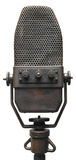 Vieux microphone Image stock