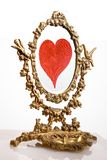 Vieux miroir Image libre de droits