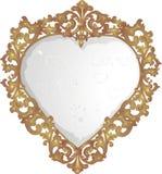 Vieux miroir Photo stock