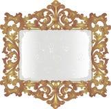 Vieux miroir poussiéreux Photographie stock