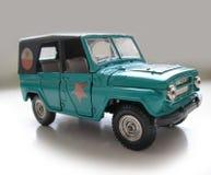 Vieux modèle Car d'Union Soviétique. Passe-temps, collection Photos stock