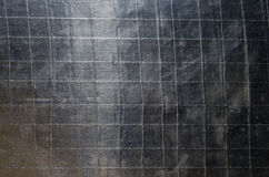 Vieux modèle de fond de papier d'aluminium Photographie stock