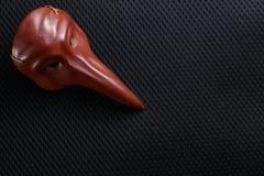 Vieux modèle de masque Photos libres de droits
