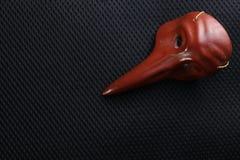 Vieux modèle de masque Image stock