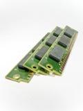 Vieux modules de RAM Photos stock