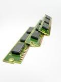 Vieux modules de RAM Photographie stock