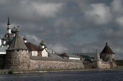 Vieux monastère Image libre de droits