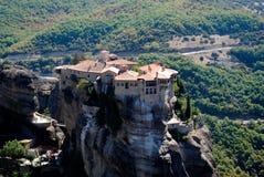 Vieux monastère en Grèce Photographie stock