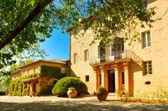 Vieux monastère en Toscane Images stock