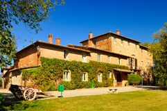 Vieux monastère en Toscane Photos libres de droits