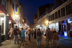 Vieux Montréal Photographie stock libre de droits