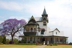 Vieux monument de château à Pretoria Photos stock